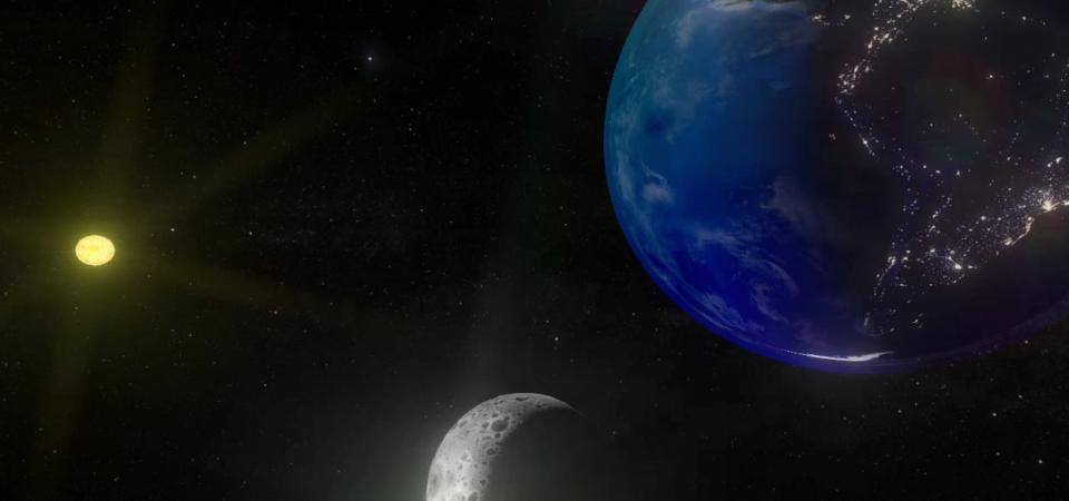Solar System – 24 hour scene